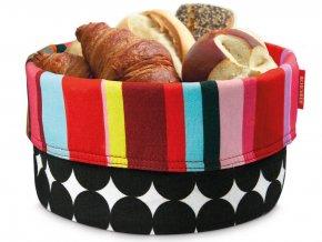 Košík na chléb z bavlny, dekorativní nádoba na skladování potravin