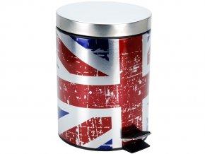 Koupelnový koš FLAG DESIGN, odpadkový koš,  5 l