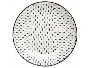 Dezertní talíř, originální nádobí k podávání dezertů se zajímavým designem