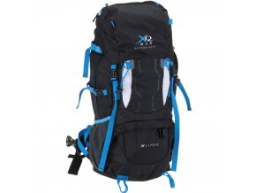Turistický batoh XLITE, lehký trekkingový batoh – 60 l, černá barva