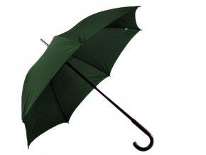 Zelený deštník, průměr 105 cm, manuální otevírání
