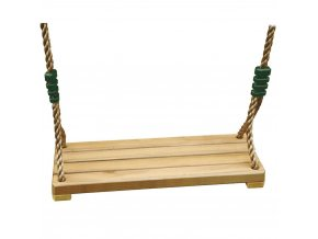 Houpačka dřevěná do zahrady nebo dětského pokoje, výška 180 cm