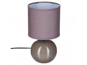 Dekorativní stojací lampa, keramické osvětlení s odstínem E14
