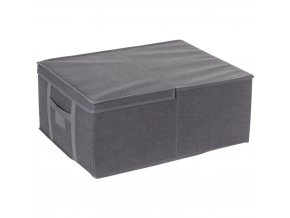 Krabice s vakuovým vakem FIVE, obdélníková nádoba s víkem a rukojetí