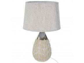 Dekorativní stojací lampa, osvětlení se stínítkem a dekorativním stojanem E27
