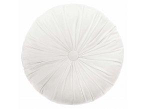 Polštář dekorační DOLCE, slonovinová barva, 40 cm