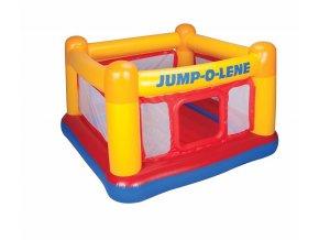 Trampolína nafukovací pro 2 děti, barevná Jump-O-Lene, boxerský ring Intex
