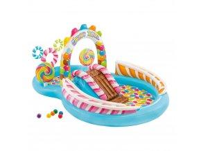 Bazén dětský nafukovací BONBONS, INTEX – bonbóny