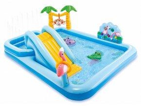 Bazén dětský nafukovací DŽUNGLE, INTEX
