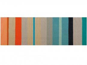 Ručně pletený bavlněný koberec v módním stylu, 80x250 cm