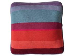 Pletený polštář s módním designem, povlak z měkké bavlny