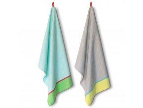 Kuchyňské utěrky na nádobí, ručníky vyrobené z bavlny