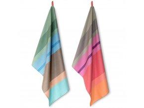 Kuchyňské utěrky na nádobí, stylové bavlněné ručníky