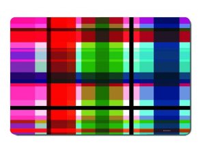 Podložky na stůl s barevným vzorem, moderní podložky pod talíře