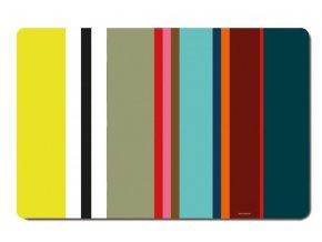 Podložky pod talíře s barevným vzorem, moderní prostírání na ubrusy