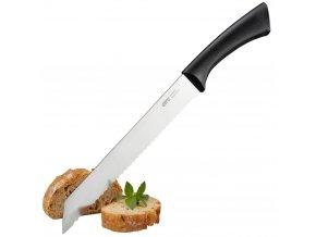 Nůž na krájení chleba z nerezové oceli, profesionální kuchyňský nůž na chléb.