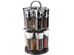 Stojan na koření s obsahem aromatických látek, police s koření perfektní jako dárek