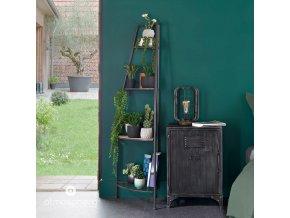 Umělá rostlina v šestihranném květináči – elegantní ozdoba k zavěšení do obýváku
