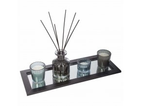 Aroma difuzér s tyčinkami a vonné svíčky, velká sada pro aromaterapii, skvělý tip na dárek