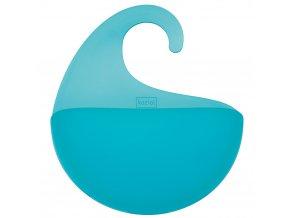Kontejner pro koupelnové doplňky SURF XS - barva tyrkysová, KOZIOL