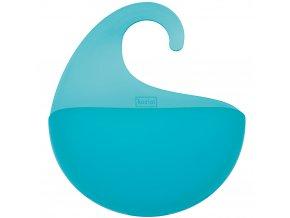Kontejner pro koupelnové doplňky SURF M - barva tyrkysová, KOZIOL