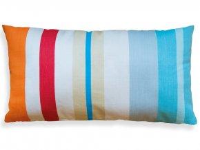 Dekorativní povlak na polštář, barevný ornament do obývacího pokoje