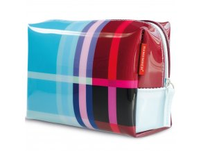 Dámský kufřík na kosmetiku z kvalitního materiálu, malá kosmetička do kabelky