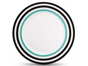 Porcelánový talíř na dezert, barevný podnos k servírování chodů
