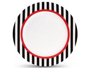 Dezertní talíř na zákusky, porcelánový talířek