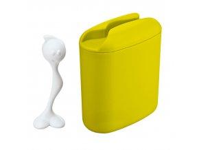 Nádoba HOT STUFF  s odměrkou - barva limon