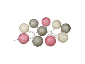 Svítící koule 10 ks, LED