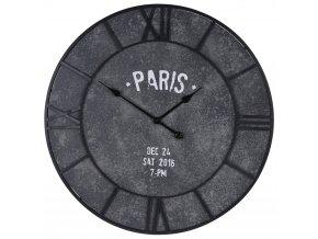 Kulaté nástěnné hodiny CEMENT LOOK , velké Ø 75 cm