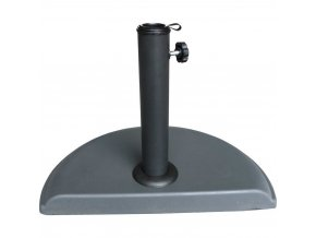 Základ pro polkruhový slunečník, stabilizující betonový podklad pro zahradní nebo balkonový slunečník