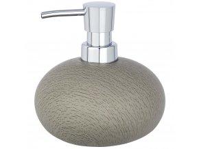 Dávkovač mýdla Joy, stylový obal na tekuté mýdlo, 360 ml, WENKO