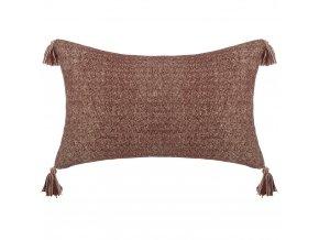 Obdélníkový polštář se vzorem, velký dekorativní polštář pro obývací pokoj