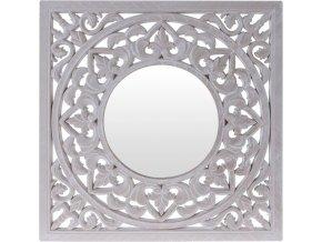 Nástěnné zrcadlo v dekorativním rámu, 50x50 cm