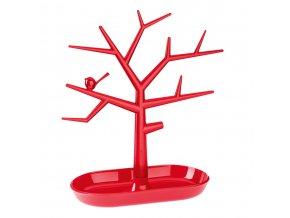 Stromeček na šperky Pi:p,velikost M - barva červená, KOZIOL