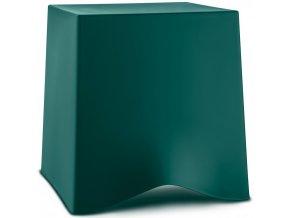 BRIQ stolička - smaragdová barva, Koziol