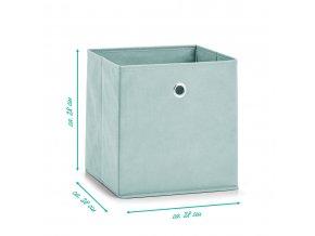 Krabice z fleece, krabice textilií pro ukládání předmětů, organizátor místnosti a obývacího pokoje.