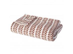Teplá velká přikrývka, měkká tkanina, univerzální, postel nebo pohovka, velká velikost, červeno-bílá, se vzorem