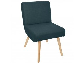 židle se zeleným polstrováním, čalouněným opěradlem a sedadlem, elegantní a pohodlné