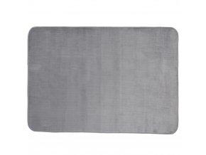 Měkký a hladký velurový koberec, krásný koberec ve skandinávském stylu