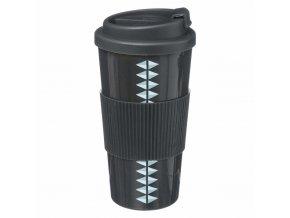 Plastové termosky s uzavřeným uzávěrem, šálek na teplé nápoje - SECRET de GOMURME
