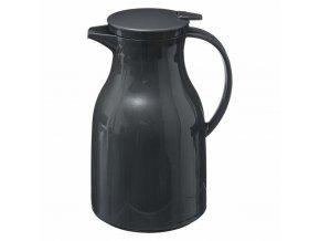 Termální džbán s víkem a rukojetí, plastová nádoba na teplé nápoje - 950 ml, SECRET de GOMURME