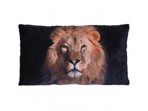 Design Lion Polštář s potiskem dekorativní polštář Obdélníkový polštář polštář s krytem na kočičí polštář