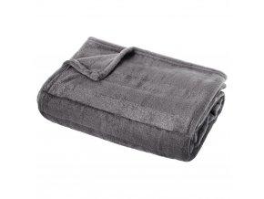 Pruhovaná přikrývka pro postel a pohovku, měkká a teplá dekorativní kostkované