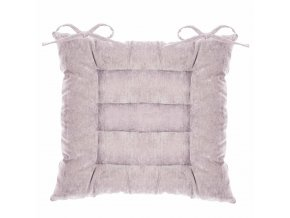 Čtvercový polštář pro domácí a terasové židle polštář, antracit