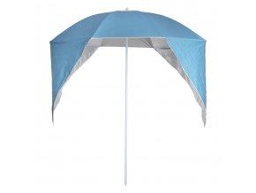 Slunečník, čelní sklo, deštník na pláži, modrá