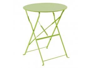 Balkón stůl, skládací zahradní stůl, zelená barva
