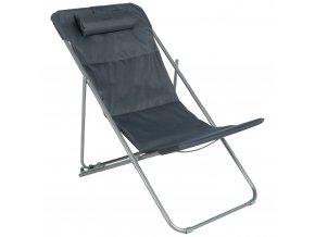 BILBAO Garden Deckchair, barva černá